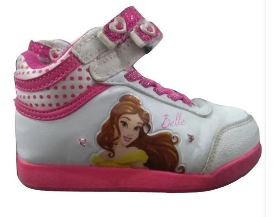 Zapatillas C/luz Addnice Princesa Bella N ° 25 (sin Envio)