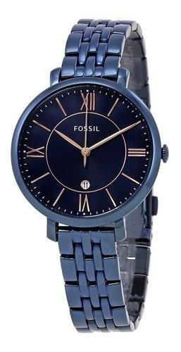 Reloj Mujer Azul Es4094 - Es4294 - Es3838 Originales Fossil