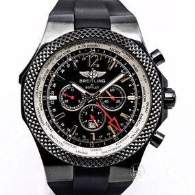 Breitling Bentley Gmt Midnight Carbon Limited Edition 49mm
