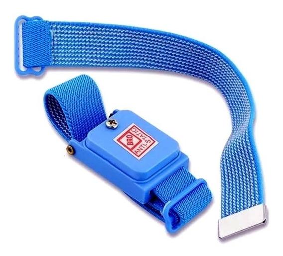 Pulseira Anti-estática Esd Sem Fio Profissional +1 Bracelete