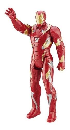 Iron Man Con Luz Y Sonidos Niños Regalo Marvel Juguete