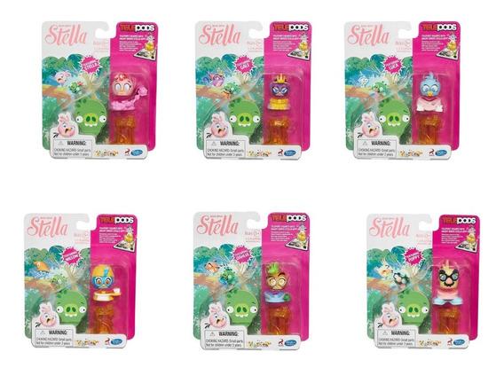 Angry Birds Stella Telepods Boneco Original Hasbro 1 Unidade