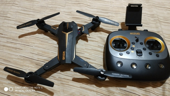 Com Defeito Drone Visuo Xs812 Gps Apenas Retiradas De Peças