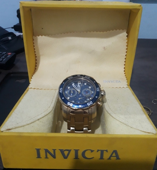 Invicta Pro Driver Fundo Azul Original