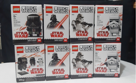 Brickheadz Star Wars Darth Vader Y Stormtrooper Pack