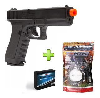 Pistola Airsoft Glock G7 Kwc K17 Spring 6mm + 2000 Bbs