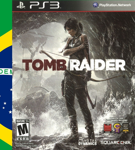 Tomb Raider Portugues Ps3 Psn - Midia Digital