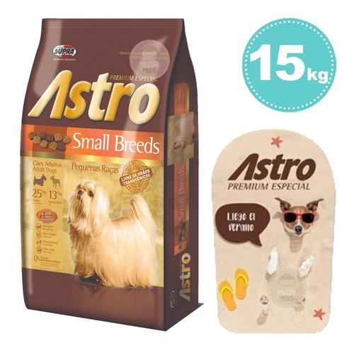 Imagen 1 de 2 de Astro Small Breed Raza Pequeña De Frost 15kg +reg Elecc +env