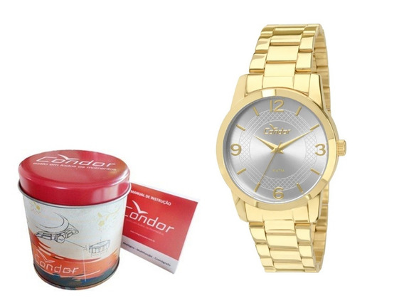 Relógio Condor Feminino Dourado Co2035klp/4k