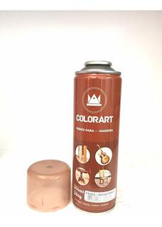 Spray Verniz Imbuia Para Madeira Móveis Porta Colorart 300ml