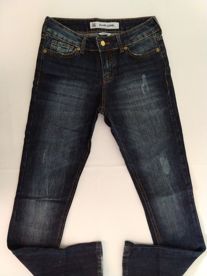 John John Calça Jeans Feminina 36 Skinny Nova Única Original