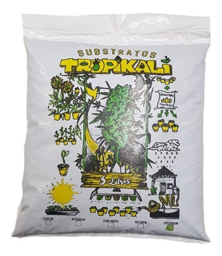 Terra Substrato Orgânico Supergrow 5l Tropikali Turfa