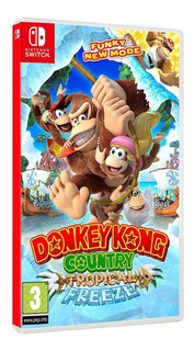 Donkey Kong Country Tropical Freeze Nintendo Switch. Físico