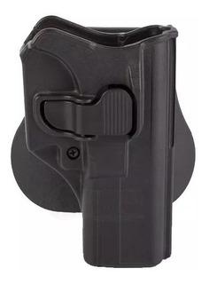 Funda Pistola Milfort Holster Glock 17/19/22 Polímero Paleta