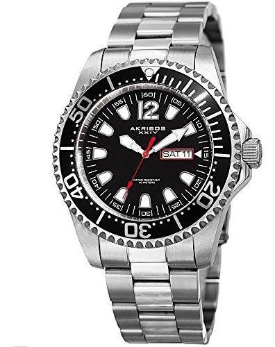 Ideal Para El Día Del Padre - Akribos Men? ¿reloj Diver? Res