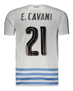 Camisa Puma Uruguai Away 2016 21 E. Cavani