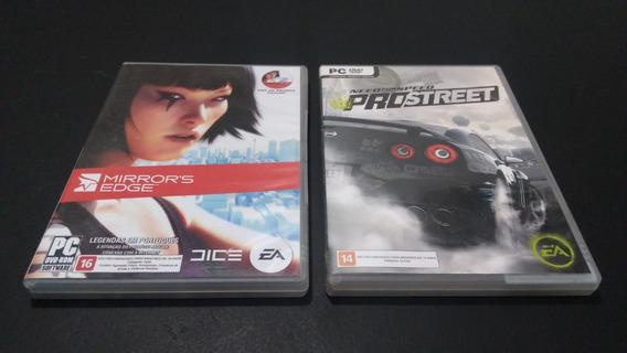 Jogos Para Pc Mirrors Edge E Need For Speed Pro