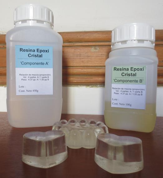 Resina Epoxi Cristal 500 Gr.