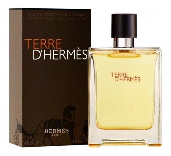 Perfume Terre Dhermés Masculino 100 Ml Edt Hermés Lacrado