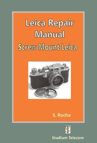 Leica Maintenance Screw Mount Manual