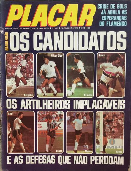 Revista Placar N° 407 - 10.02.1978