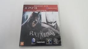 Batman Arkham Asylum + Batman Arkham City - Ps3 - Original