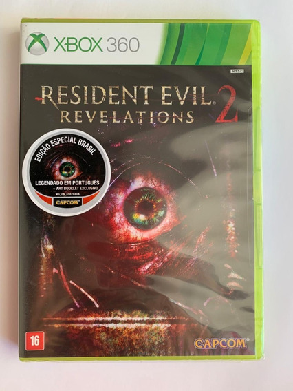 Resident Evil Revelations 2 - Xbox 360 - Novo-lacrado