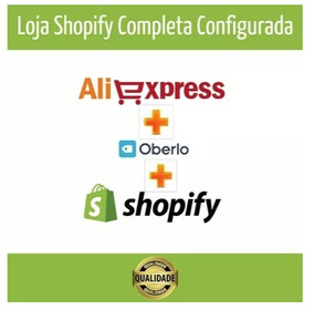 Loja Completa Shopify Ecommerce Dropshipping