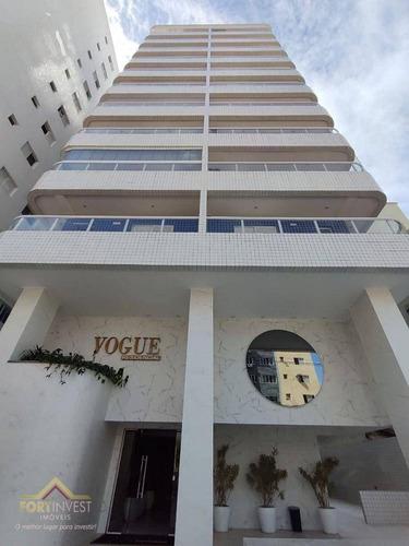 Imagem 1 de 30 de Apartamento Com 2 Dormitórios À Venda, 72 M² Por R$ 480.000,00 - Canto Do Forte - Praia Grande/sp - Ap2667