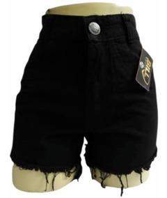 08 Short Jeans Com E Sem Lycra Cintura Alta Atacado Revenda