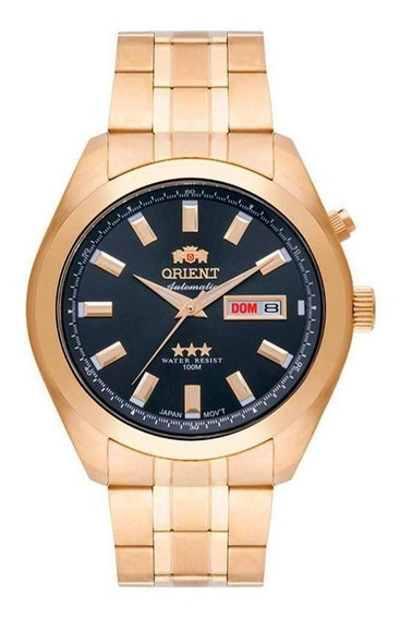Relógio Orient Analógico Automático 469gp075 G1kx Dourado