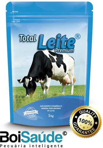 Total Leite Premium Núcleo Vitamínico Para Gado De Leite 5kg