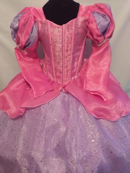 Hermoso Vestido Princesa Ariel La Sirenita Dos En Uno