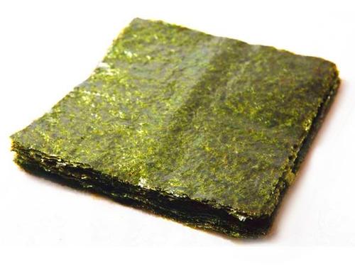 Alga Marina (nori) Para Sushi Con 100 Hojas