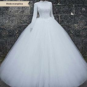 Vestidos De Noiva Moda Evangélica P A Plus Size