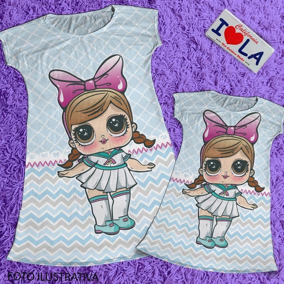 Vestido Mae E Filha Boneca Lol Hairgoals / Vestido Da Lol Cod10