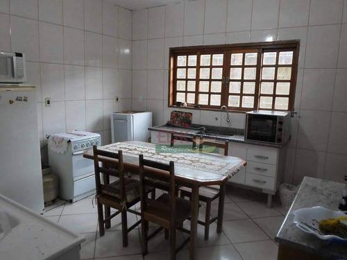 Imagem 1 de 6 de Sobrado Com 3 Dormitórios À Venda, 210 M² Por R$ 350.000,00 - Village Das Flores - Caçapava/sp - So1109