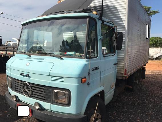 Mercedes-benz Mb 608 Ano 83 Com Baú