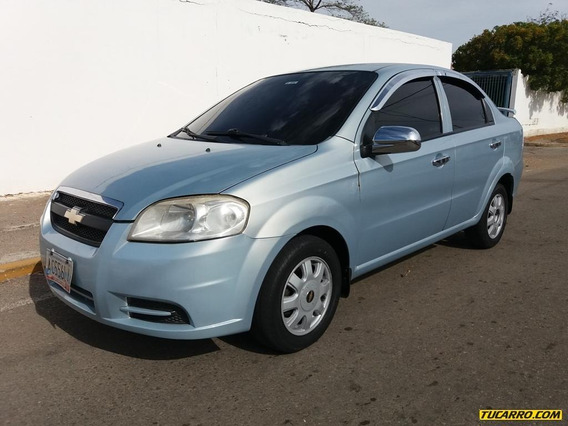 Chevrolet Aveo 4p Sincronico