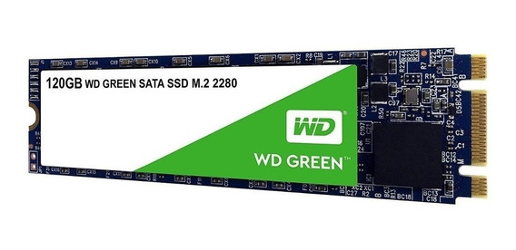 Disco Rigido 120 Gb Wd Ssd Green M2 2280