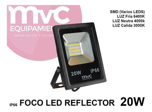 Led 20w Para Exterior Protección Ip66 Mvc