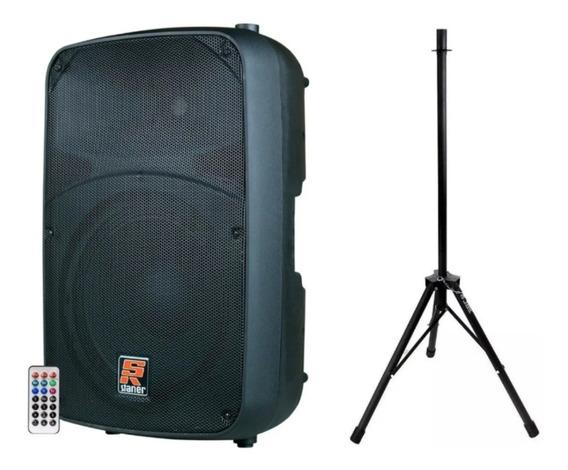 Caixa Ativa Bluetooth Staner Sr-212a 200w + Tripé
