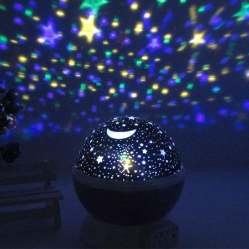 Lamparas De Proyector Con Diseño / Estrellas / Planetas