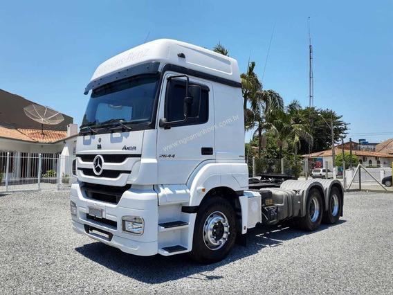 Mb Axor 2644 Traçado 6x4 2013 Impecável Fh540 440 Scania 440