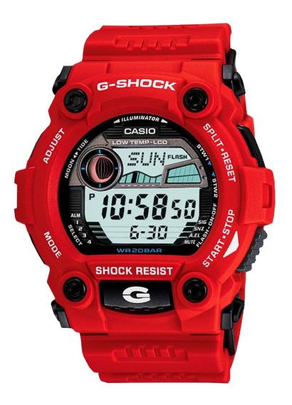 Relógio G-shock G-7900a-4dr C/ Tábua De Marés