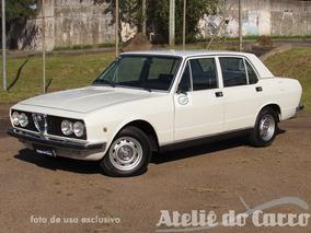 Alfa Romeo 2300b 1977 Original Raro Estado - Ateliê Do Carro