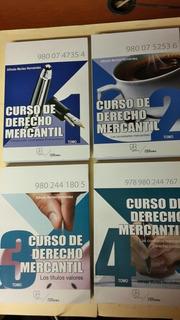 Curso De Derecho Mercantil. 4 Tomos. Morles Hernández