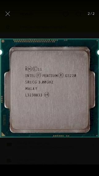 Processador G3220, 3.0 Ghz, Usado Funcionando Perfeitamente.