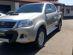 Toyota Hilux Srv 2013 Bege Diesel