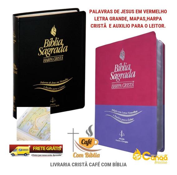 2 X Bíblia Sagrada Harpa Cristã-promoção